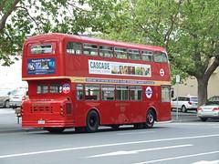 Hobart Red Tour Bus (Simon_sees) Tags: red bus buses tour transport australia tasmania hobart doubledecker leyland londonbus londontransport redbus tourbus sightseeingbus atlantean