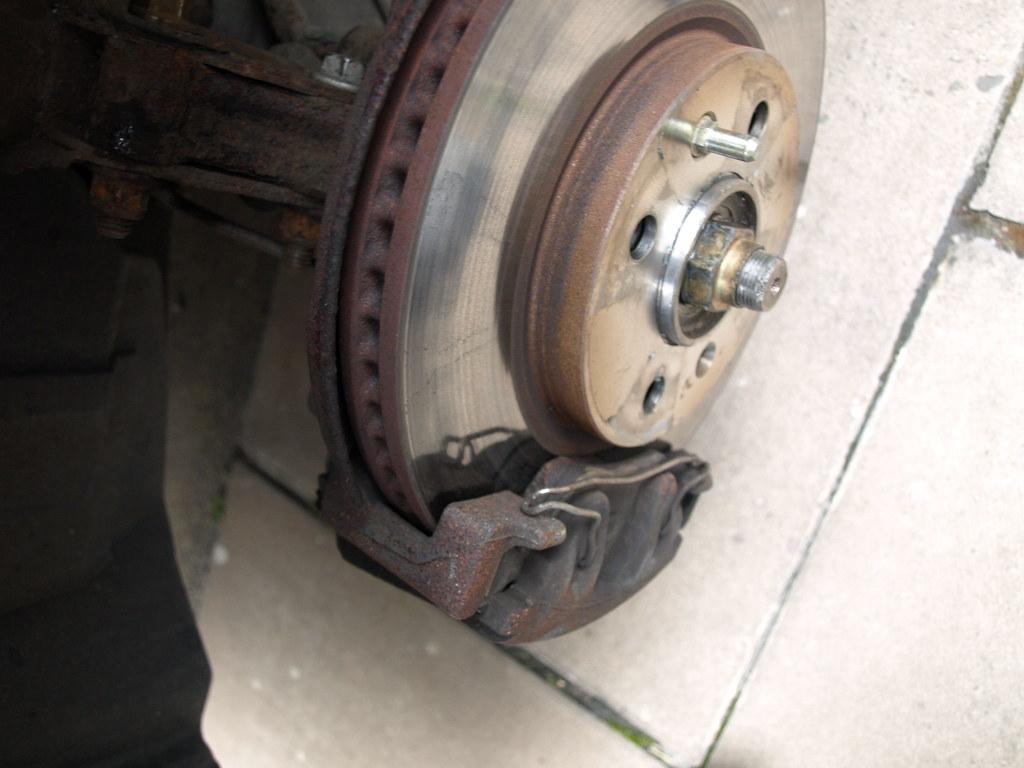 Front left brake