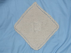 Diagonal Owl Dishcloth 2
