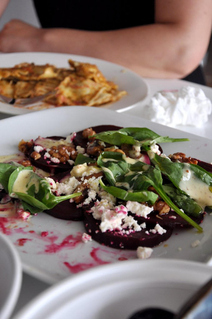 Roasted Beet Salad by lostatplay