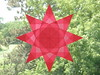 Red 8 Pointed Star