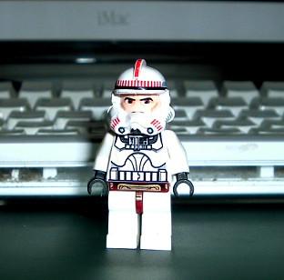 Shock trooper pilot lego star wars custom minifig