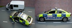 1:18 Code 3 Ford Mondeo City Of London Police Car (alan215067code3models) Tags: new city 3 london ford car code police emergency 118 999 mondeo zetec whelen woodway of