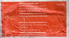 Galata Konak Cafe - Arka
