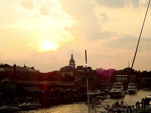 annapolis sunset