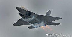 F-22 Raptor (nikonjim) Tags: ri plane action aircraft jet airshow explore rhodeisland raptor f22 usaf quonset d300 unitedstatesairforce tc17eii explored demonstrationteam f22a 300mmf4d aircombatcommand platinumphoto northkingston flghter nikonjim