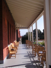 Walt Disney Family Museum porch