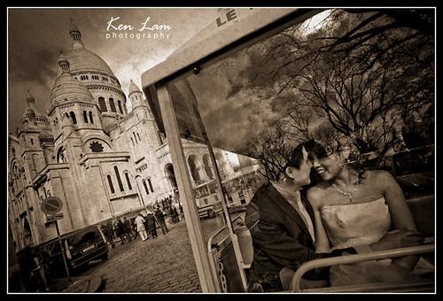 Diana & William -Pre-wedding in Paris