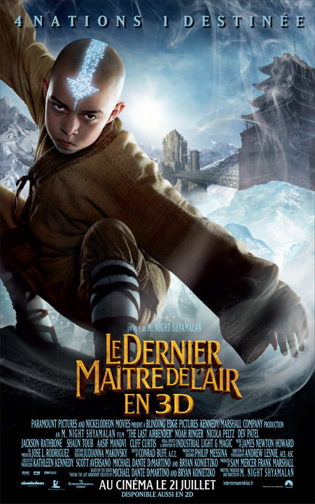The Last Airbender Poster #1
