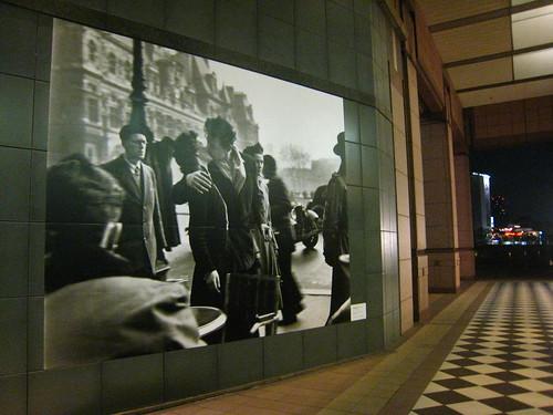 Pasillo de entrada al Museo de fotografía de Tokyo class=