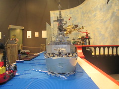 lego hmcs winnipeg front shot (Soundwave_sw) Tags: museum winnipeg lego pirates navy canadian surrey class somali halifax frigate 2010 hmcs hmcswinnipeg