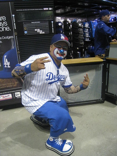 Dodger Clown
