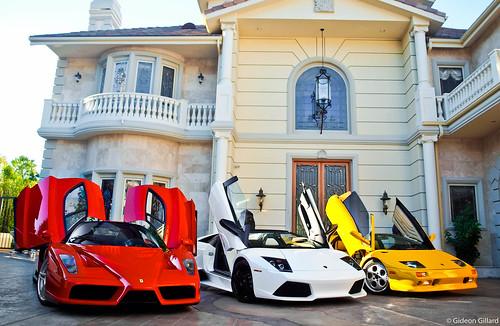 Ferrari Enzo, etc.