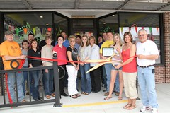 Jamaica Me Tan Ribbon Cutting