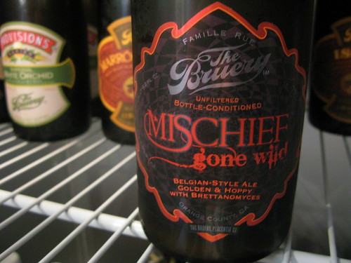 The Bruery's Mischief Gone Wild by Caroline on Crack