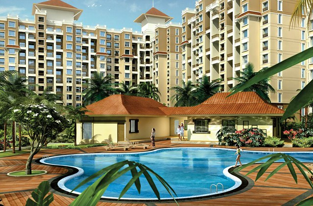 Om Developers' Tropica Blessed Township of 2 BHK & 3 BHK Flats in Ravet PCMC Pune 412 101 -6