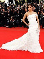 Off the shoulder dress - Eva Longoria