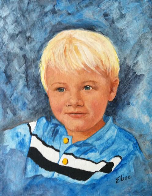 Blake painting