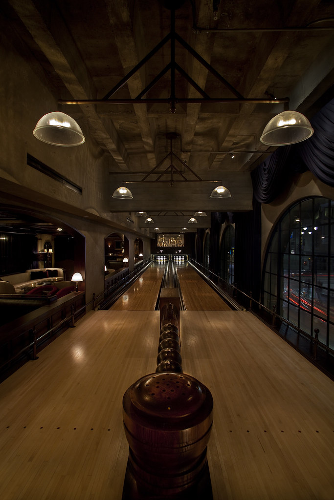 Spare Room Bowling Alley
