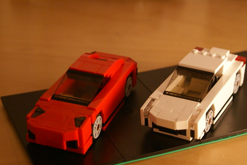 Both Lamborghini's