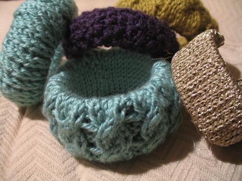 Knitted Bracelets II