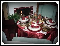 Fireside Setting