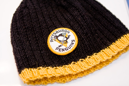 Penguins Patch Hat