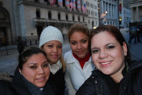 Wendy , Oyuki , Renata Y Yo En Wall Street by itziponce.