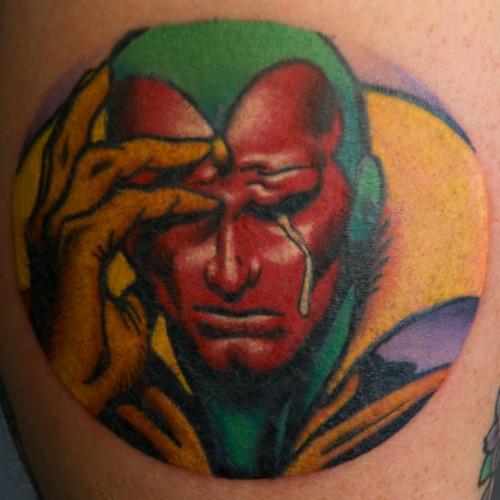 Super hero tattoos (Pool)