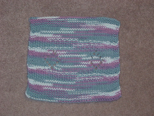 Mid-Jan KAL dishcloth