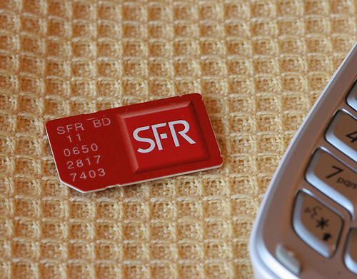 SFR French Sim Chip