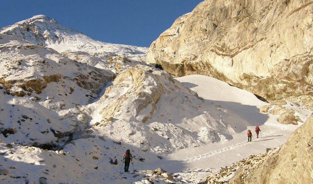 029- Crampones y Hacia el glaciar
