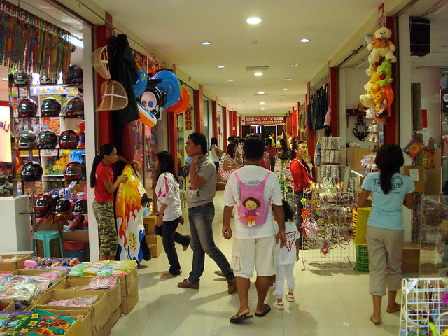 Retail Stores on Malls where most Filipinos used to shop