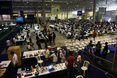Metade do Campus Party