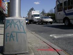 Corner of Church and East 7th (thismorningmorningsminion) Tags: brooklyn grafitti kensington backfat