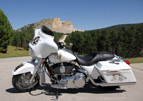 2008 Harley-Davidson Street Glide being raffled as a fundraiser
