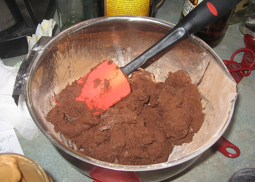 Chocolate dough