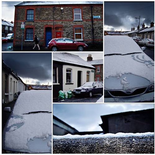 Snow in Stoneybatter