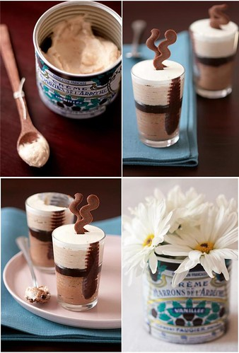 Chesnut Cream Mousse