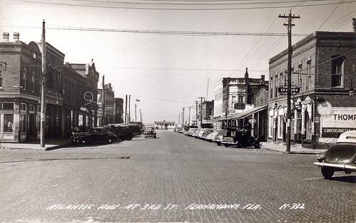 Downtown Fernandina Beach, Florida, 1940s