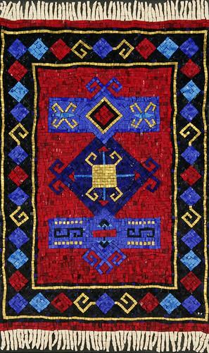Prayer Rug - Mosaic