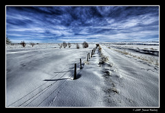 Snow Field (James Neeley) Tags: winter snow landscape searchthebest idaho snowfield hdr idahofalls photomatix 5xp mywinners jamesneeley great123