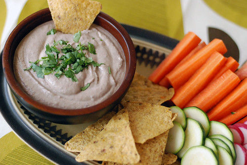 Chipotle Black Bean Tahini Dip