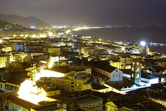 Salerno (Italy) - City Centre by Night (Danielzolli) Tags: city italien sea italy mer noche mar meer mediterraneo italia mare campania nightshot nacht dom kathedrale ciudad more stadt sa duomo grad altstadt oldtown italie salerno ville sud mediterran citta noc nachtaufnahme ciutat cittavecchia cascoviejo miasto sj vielleville mesto morze starowka mediterrane  wochy kampanien italija mezzogiorno suditalia gorod salernitana nocny campaniafelix sditalien taliansko miesto salern salernitano taljansko salernitanita