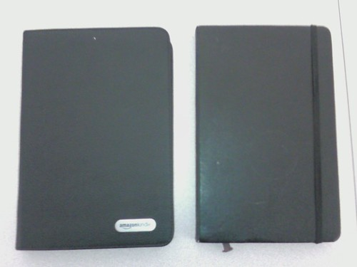 Kindle vs. Moleskine