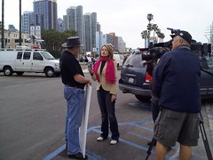 Interview at the San Diego Tea Party 2/27/09
