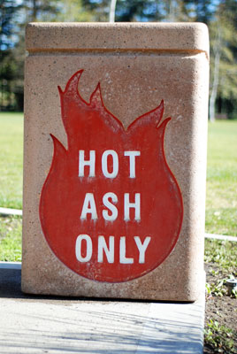 Hot Ash Only
