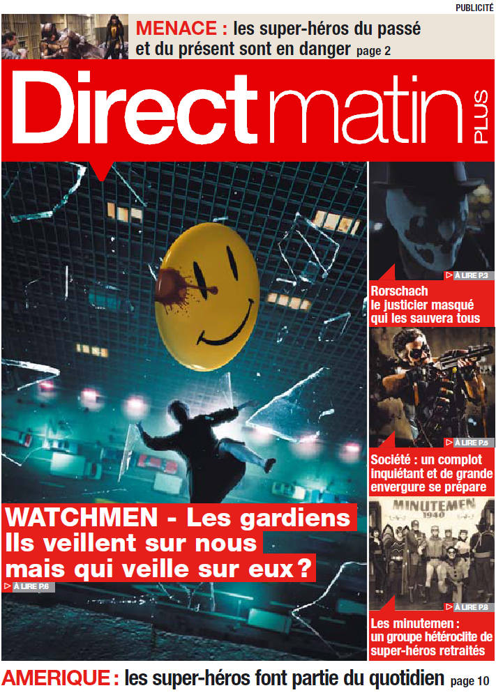 watchmen direct cover