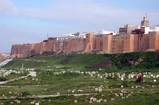 Les murs de la Kasbah (Rabat, Maroc)