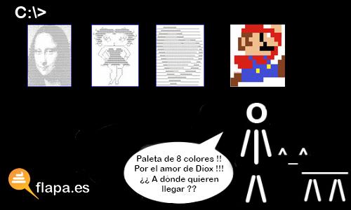 mundo ascii - arte